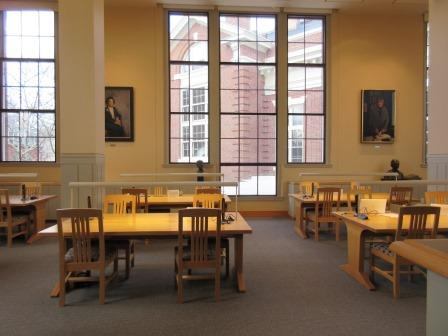 Reading Room, Schlesinger Library