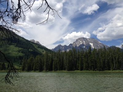 String Lake, Grand Teton National Forest, June 2015. Photograph by Natalie Dykstra.
