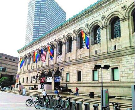 Boston Public Library, June 2015, photo by Anna Cluttebuck-Cook